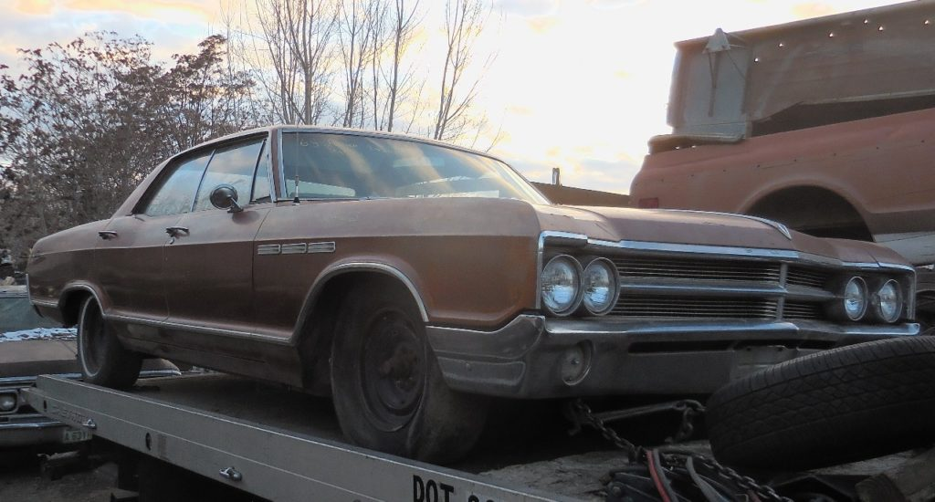1965 Buick LeSabre 4 dr hardtop  300 V-8, automatic, PS, tilt.  Straight, complete and all original. Might run!  $1,750  n-459