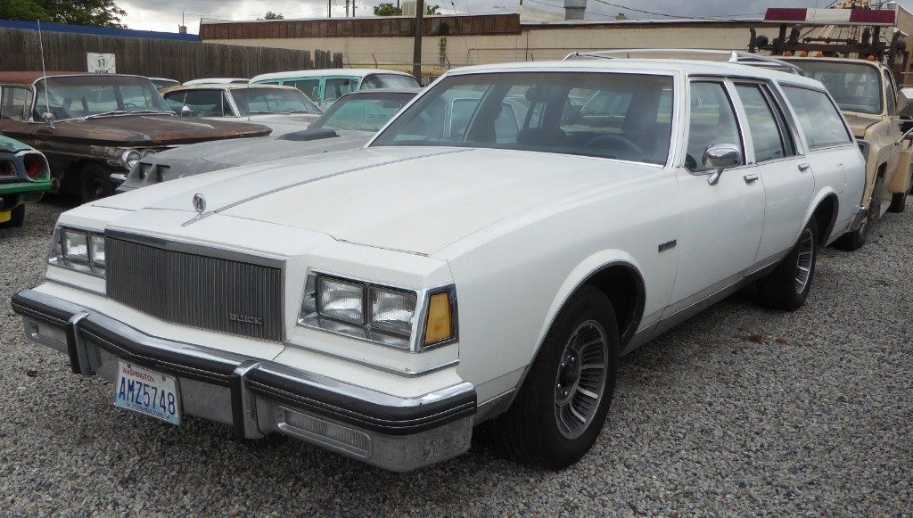 1986 Buick Lesabre wagon  good running 307 Olds V-8, rebuilt 200R4, loaded with options including rare Factory aluminum wheels. Super straight body, no rust and no ugly woodgrain.  $3,200  n-494