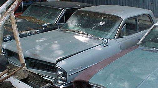 1963 Catalina - 4d sedan Ventura option, 389, ps, no manifold, straight, not running. $900  n-063