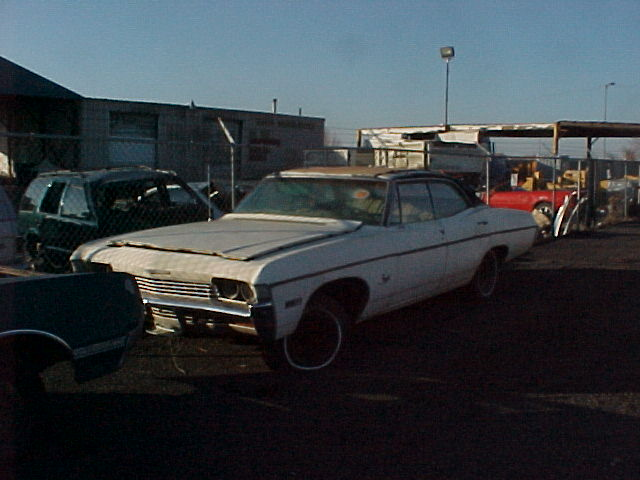 1968 Impala - 4dr, h/t, tilt, 12 bolt, no engine, no trans, parting out. n-125