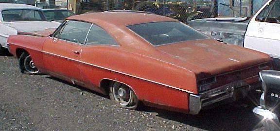 1967 Pontiac Ventura 2 Door Hardtop 400 cid engine and Turbo 400 trans. Power steering, power brakes, tilt column, rare 8-lug rims, skirts. Engine seized. $2,750 n-242