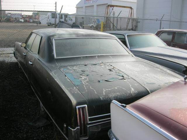 1968 Olds 98 4 dr hardtop, Complete, loaded, 455 will run. $1,500 n-313
