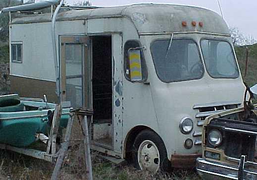 "1954 Chevrolet Step Van - 235, 4 spd, ""Running when they parked it,""  $1,200  n-1003"