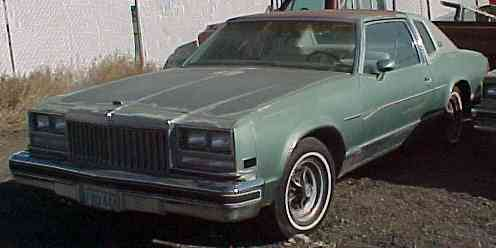 1977 Buick Riviera - Complete original and runs fair. All options including four wheel discs and rally wheels. $1,350  n-131