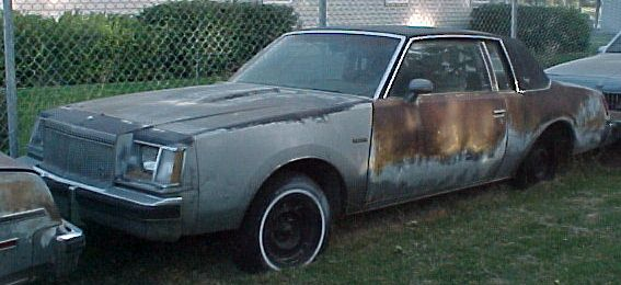 1978 Buick Regal Turbo Coupe Has dead small block Chevy currently installed. Super-straight body and trim.  Sun-baked interior, huge sway bars.  $1,200  n-229