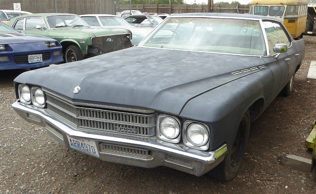 1971 Buick Electra 225 Limited 4 dr H/T  Complete, runs and drives OK, all options, good tires. $1,950  n-502