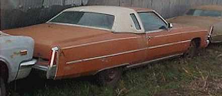 1974 Cadillac El Dorado - Complete,  Loaded, won't run, straight body.  $850  n-088