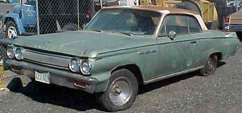 1963 Skylark - 2d, h/t, no engine, no trans, has bucket seats.  $1,650  n-141