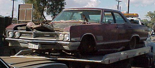 1966 Buick Wildcat 4 Door Sedan 80,000 miles.  Nice interior, dash, grille, bumpers, etc.  Rust-free.  Missing engine, trans, steering column.  n-231