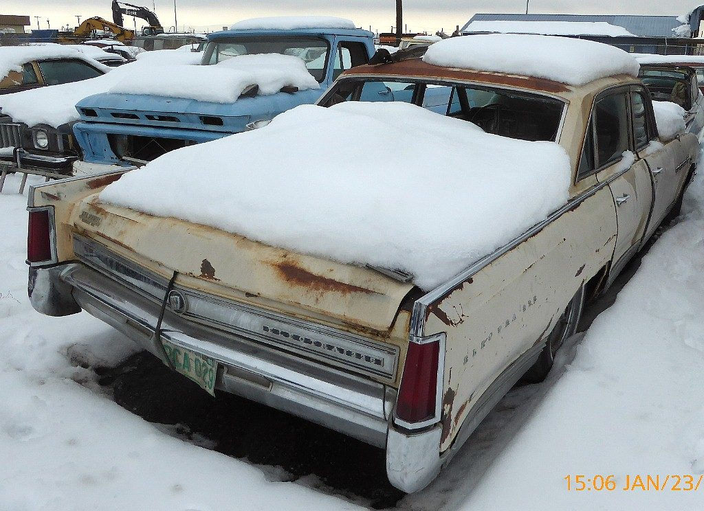 1964 Buick Electra 4 dr sedan  no engine or trans, rough and ratty but lots of good parts.  n-529