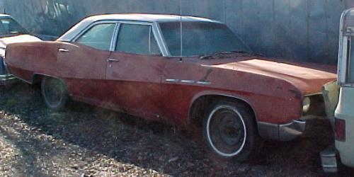 1967 LeSabre - 4d, 340 auto AC PS PB.  a02