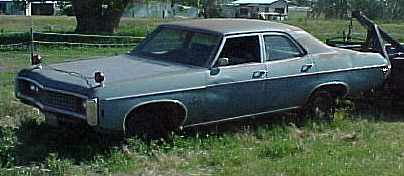 1969 Impala - 4d, ex 427 car, NO ENGINE, disc brakes, 12 bolt, etc. Have the build sheet and Protectoplate.  $1,500  n-022