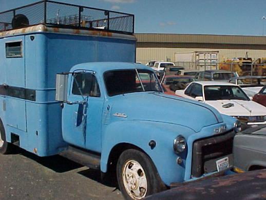 1950 GMC Box Van - 248 that runs, straight, good glass, fair rubber. $1,200  n-057