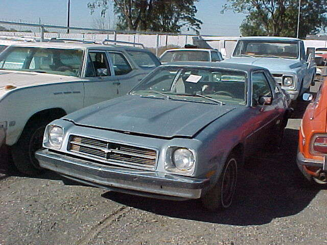 1979 Monza - coupe, V6, 4spd, straight, not running.  $750.  n-068