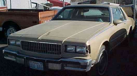 1986 Caprice - 2d, all options, not running. $900   n-136 Sorry, this one is sold!