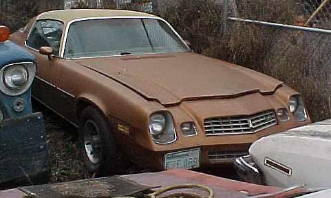 1978 Chevrolet Camaro LT - 350/TH350, tilt, AC, tach, gauges, rallys, not running. $1,350  n-183