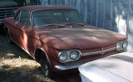 1964 Corvair Monza Coupe 4 speed, engine disassembled, nice body, super-original. $1,200 n-224 Sorry, this one is sold!