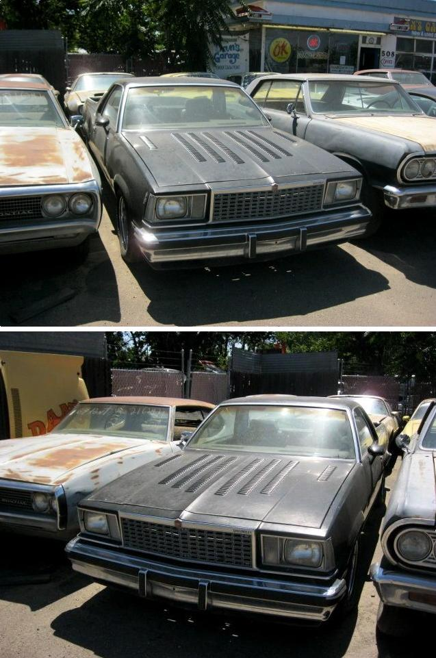 1979 El Camino SS  305, automatic, new headers, edelbrock, Factory bucket seats, tilt, tach and gauges Powr windows and locks. Custom louvered hood and tailgate. $1,800  n-394