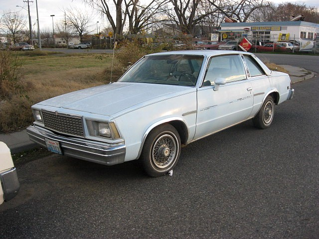 1978 Malibu Landau 2 dr  V-8, automatic, complete, ratty but not rusty.  $900 n-396 Sorry, this one is sold!