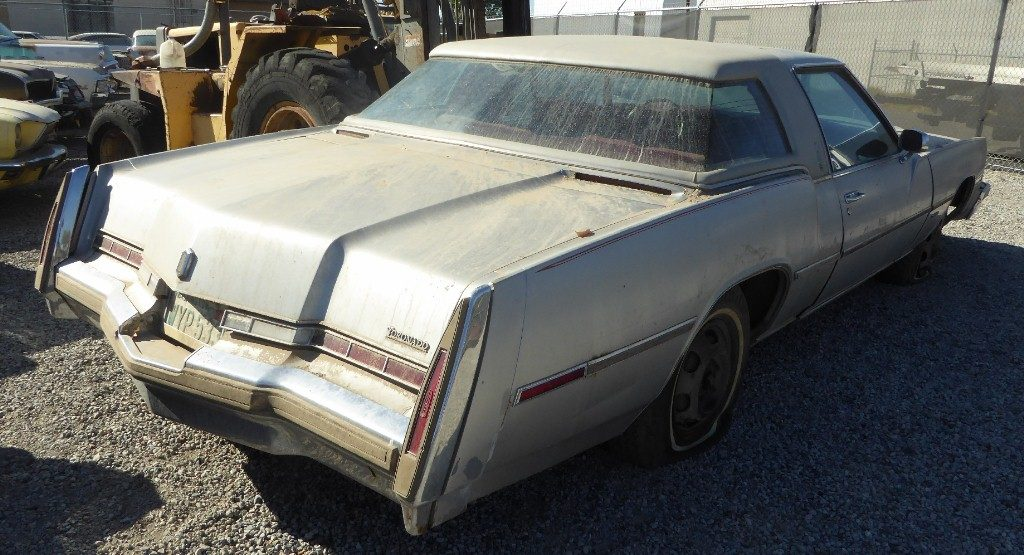 1978 Olds Toronado XS,  403 V-8 loaded w/all available options including rare XS package, padded vinyl roof, moon window, and wrap around rear glass.  $2,750  n-515  Sorry, this one is sold!