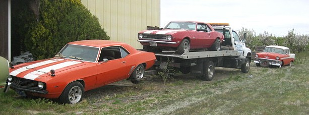 """One of the luckiest phone calls Dan's ever received... the voice on the other end said, """"I understand you buy old Camaros."""""""